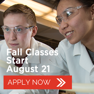 Fall Classes Start August 21 - Apply Now